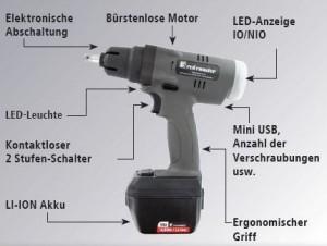 Akku-Abschaltimpulsschrauber - RedRooster